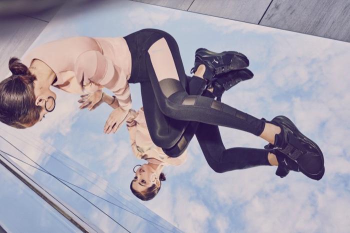 Selena Gomez fronts PUMA Phenom Satin EP sneaker campaign