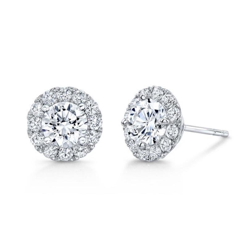 GNAT HaloSet Diamond Studs