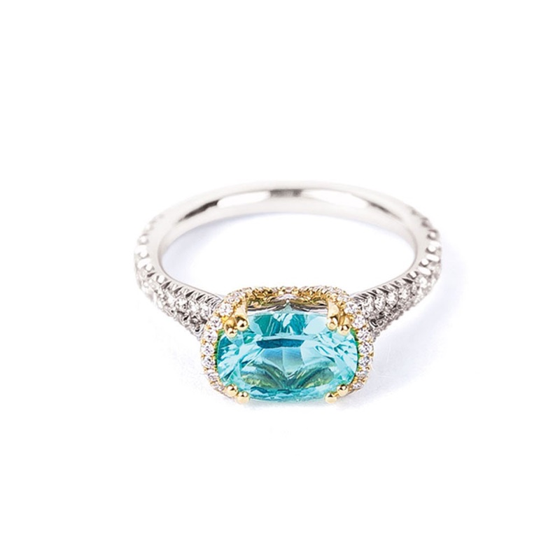 Studio 247 Paraiba Tourmaline Ring