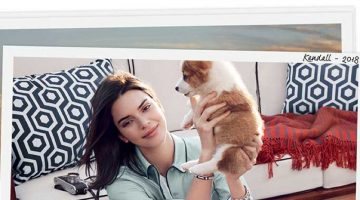 An image from Tod's spring 2018 advertising campaign starring Kendall Jenner