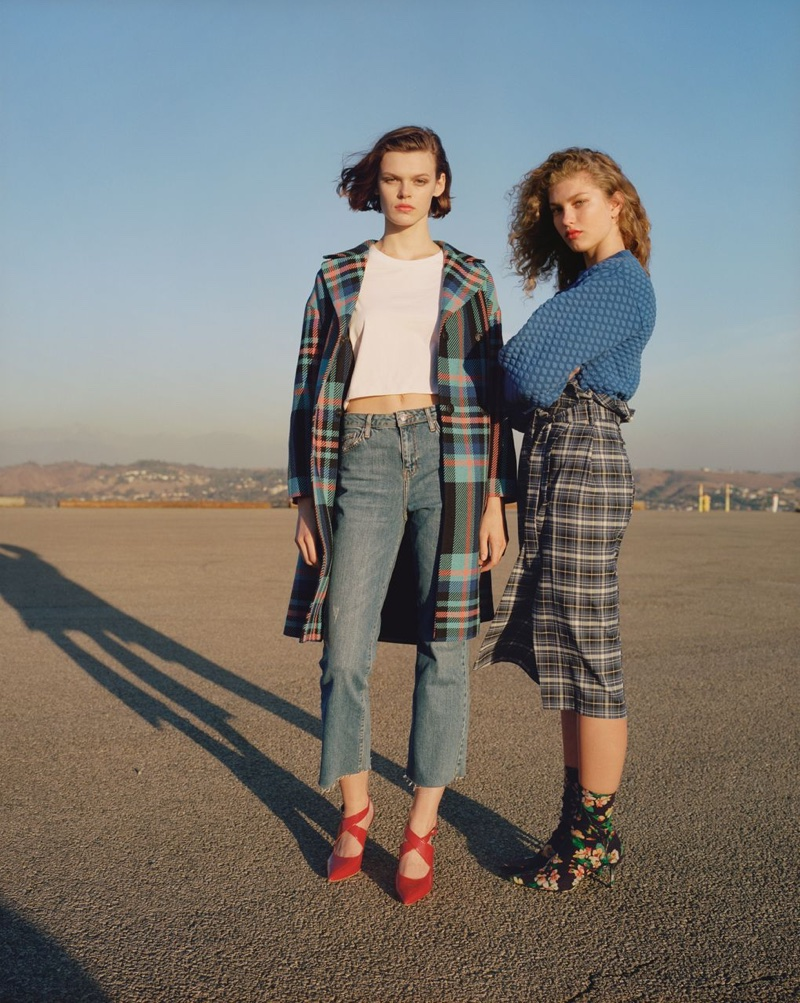 An image from Topshop's spring 2018 advertising campaign