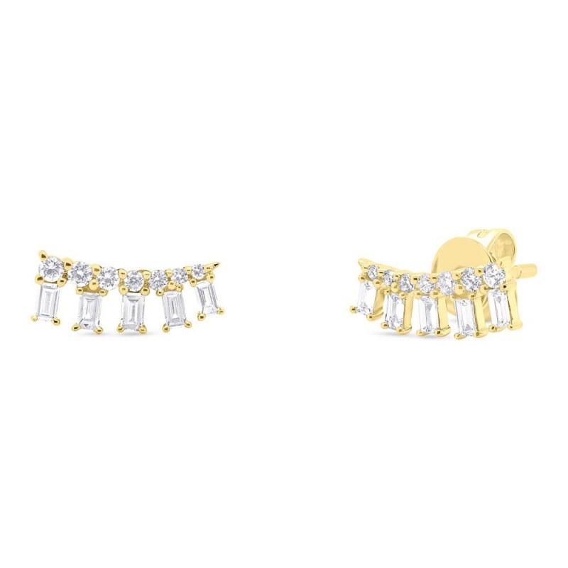 Valla Jewelry Baguette Earrings