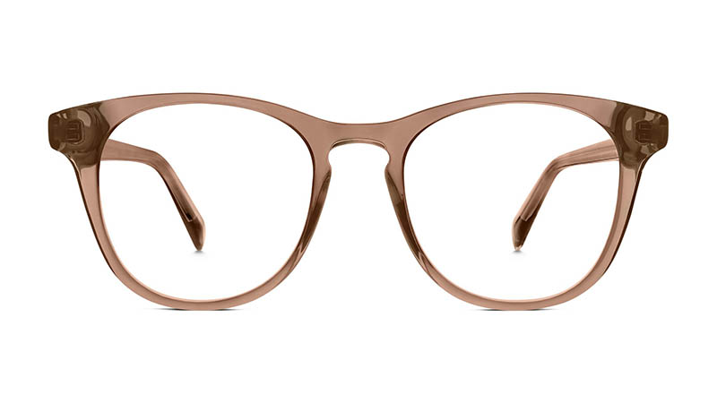 Warby Parker Bell Glasses in Hazelnut Crystal $95