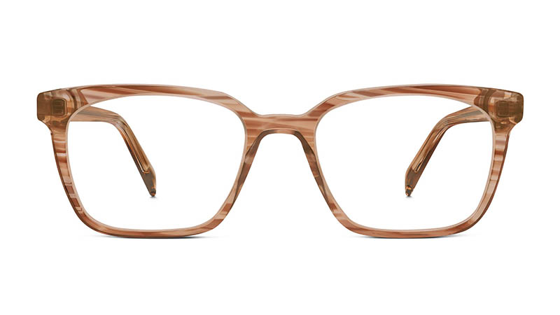 Warby Parker Hughes Small Glasses in Chestnut Crystal $95