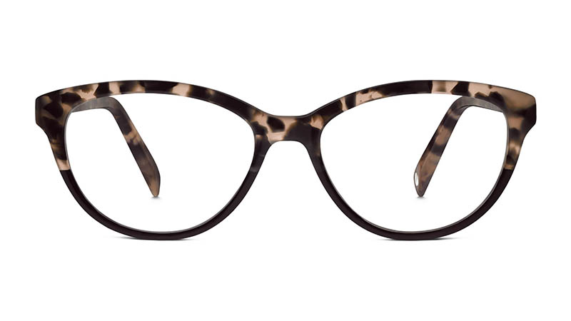 Warby Parker Millie Glasses in Birch Tortoise $95