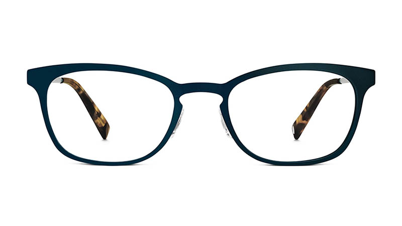 Warby Parker Nora Glasses in Brushed Navy $145