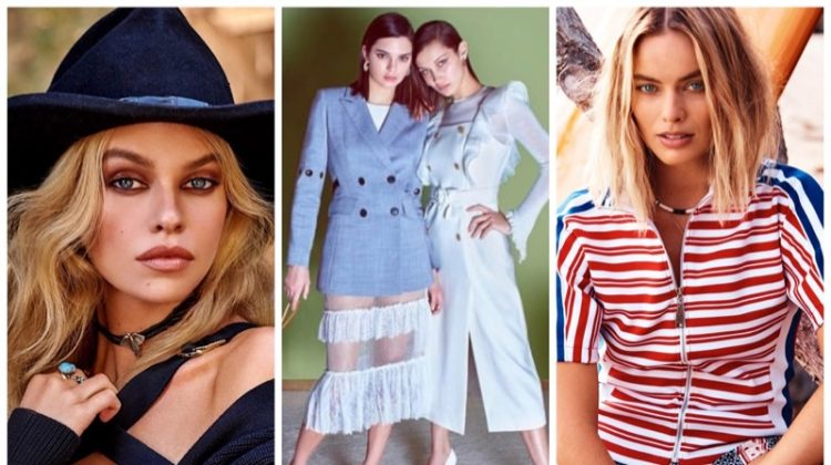 Week in Review | Stella Maxwell's New Cover, Bella & Kendall for Ochirly, Margot Robbie for ELLE + More