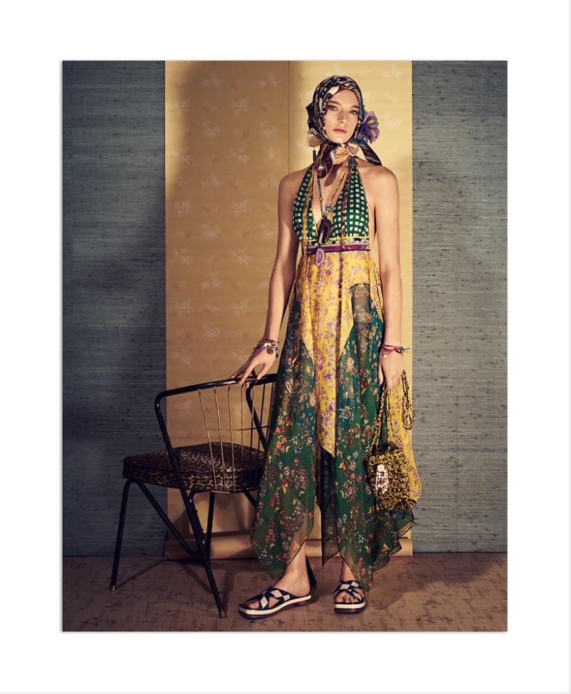 Ansley Gulielmi stars in Zara's spring-summer 2018 campaign