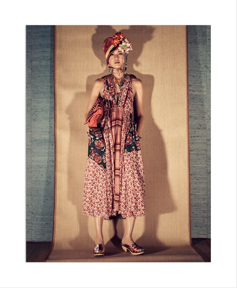 Kiko Arai appears in Zara's spring-summer 2018 campaign