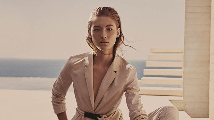 Grace Elizabeth Goes Minimal for BOSS' Spring 2018 Campaign