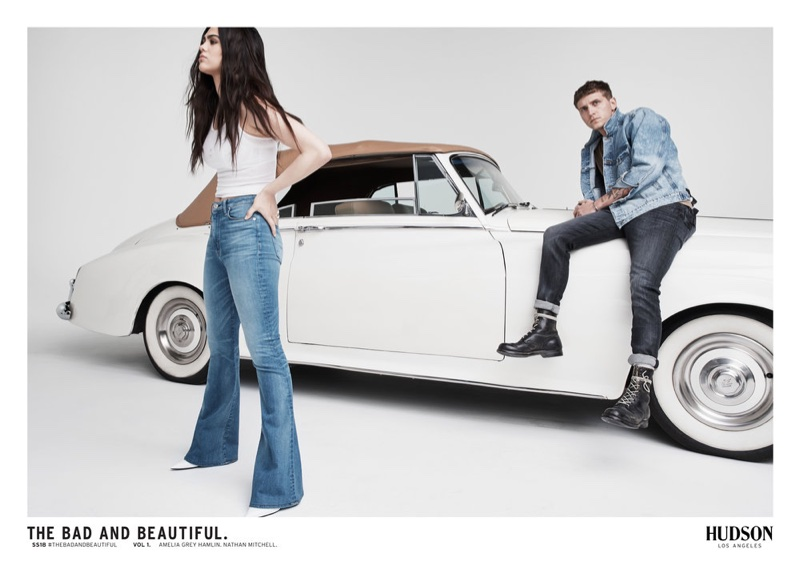 Denim brand Hudson Jeans launches spring-summer 2018 campaign