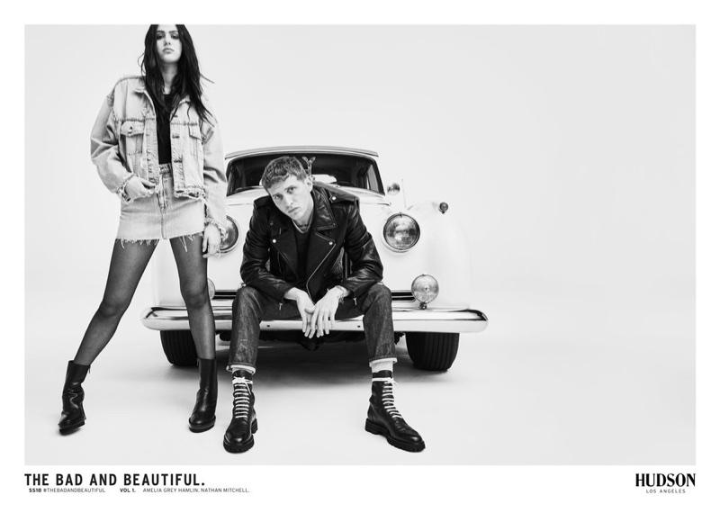 Denim brand Hudson Jeans reveals spring-summer 2018 campaign
