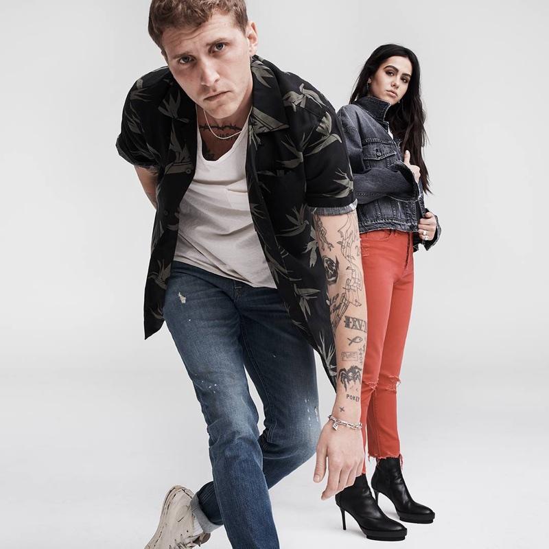 Hudson Jeans unveils spring-summer 2018 campaign