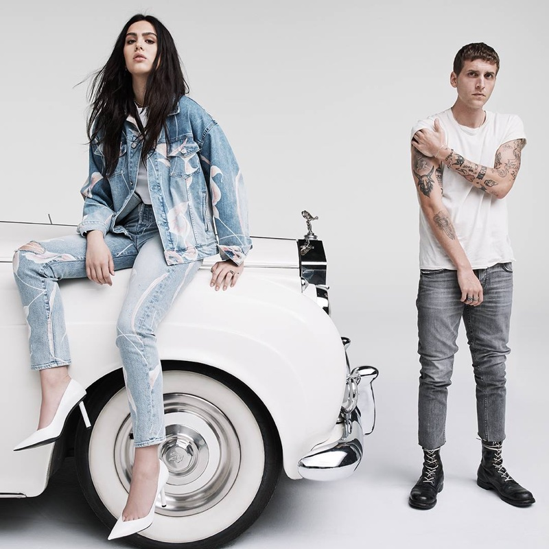 Amelia Gray Hamlin | Hudson Jeans | Spring 2018 | Campaign