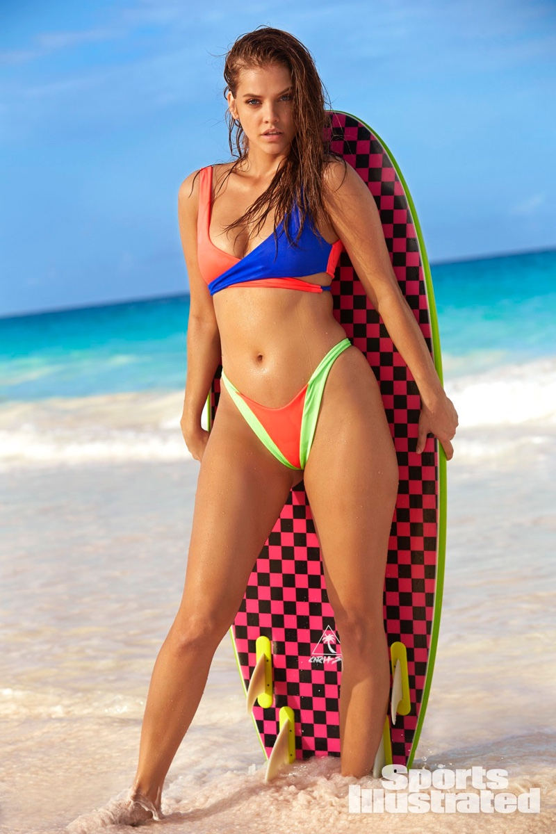 Barbara Palvin poses for Sports Illustrated: Swimsuit Issue 2018