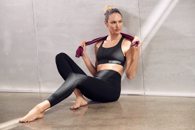 Victoria Sport features Candice Swanepoel in new photoshoot