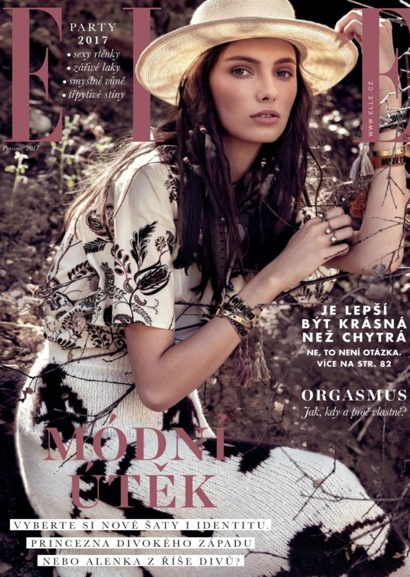 Carol Paes is a Nature Girl in Dior for ELLE Czech