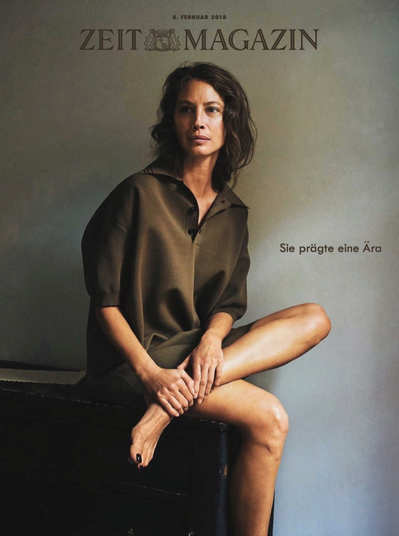 Christy Turlington Minimal Fashion Editorial Zeit Cover