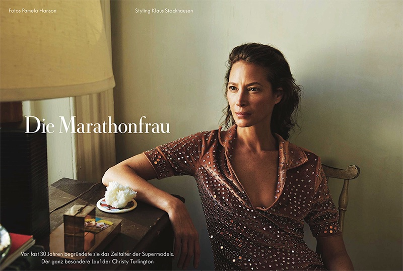 Christy Turlington is a Natural Beauty in Zeit Magazine