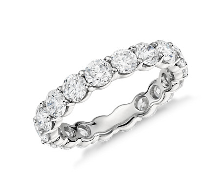 Classic Diamond Eternity Ring from Blue Nile