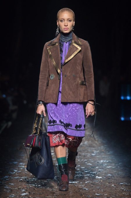 Coach Brings Gothic Romance to Fall 2018 Show