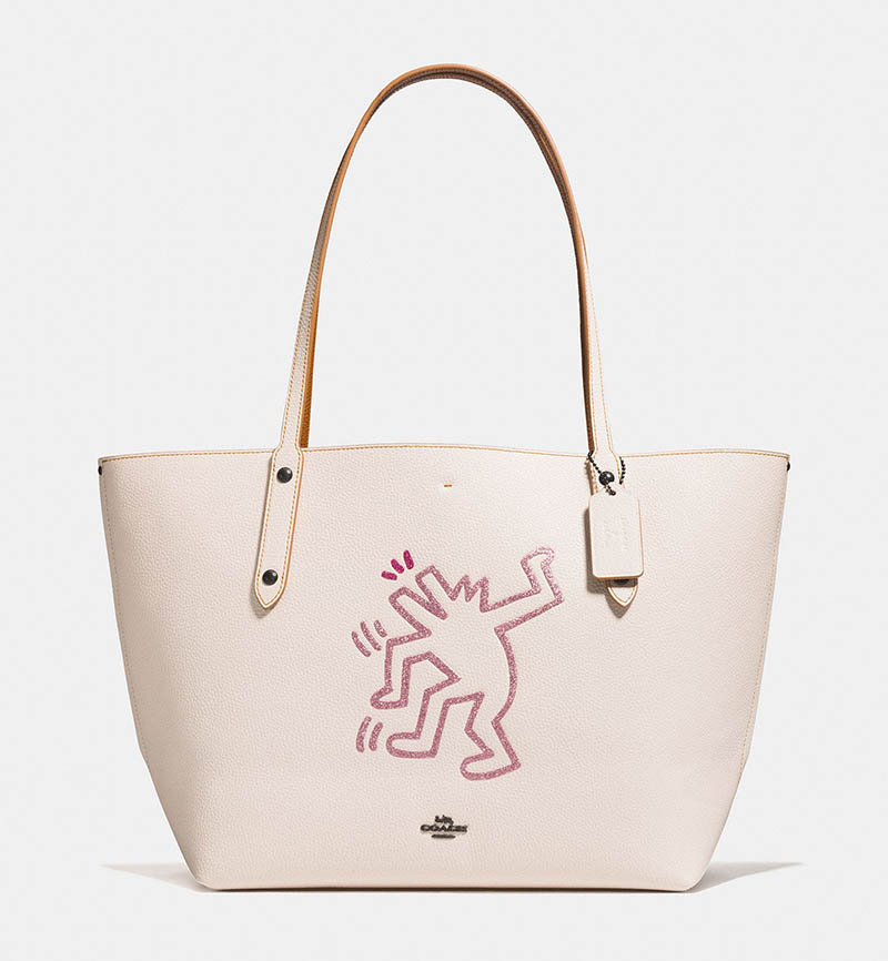 Coach x Keith Haring Market Tote Bag $395