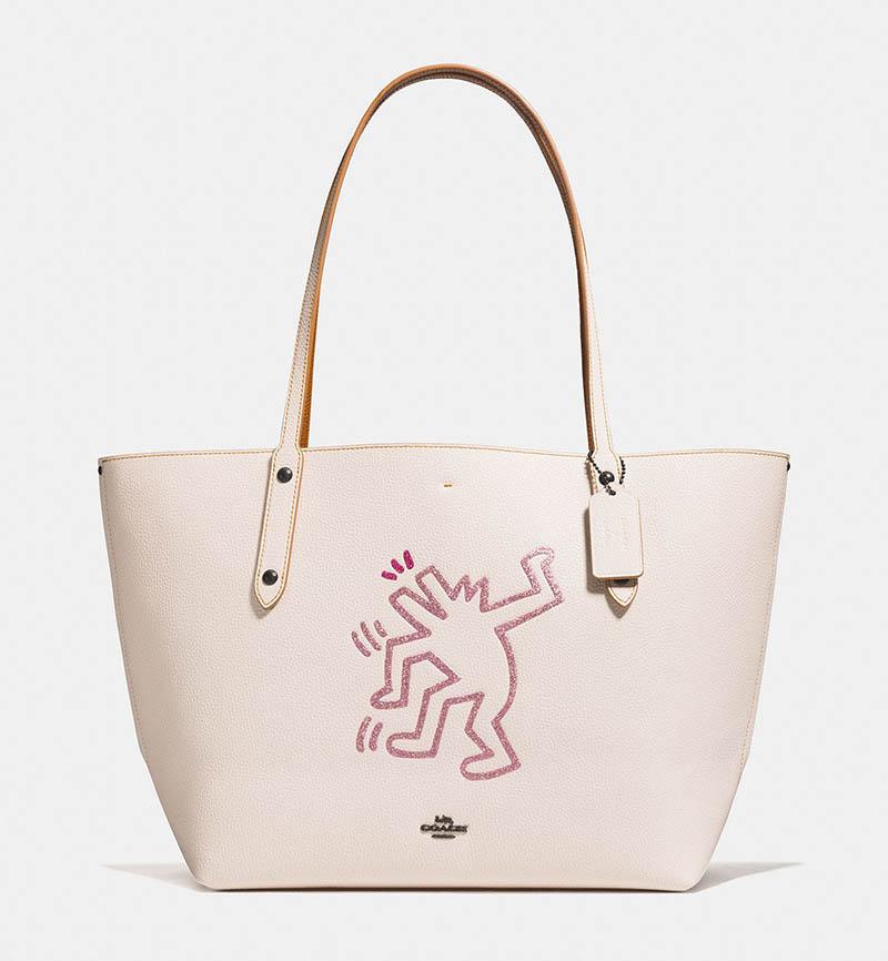 Coach x Keith Haring Market Tote Bag $395