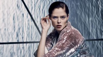 Coco Rocha Takes On Futuristic Fashions for InStyle Russia
