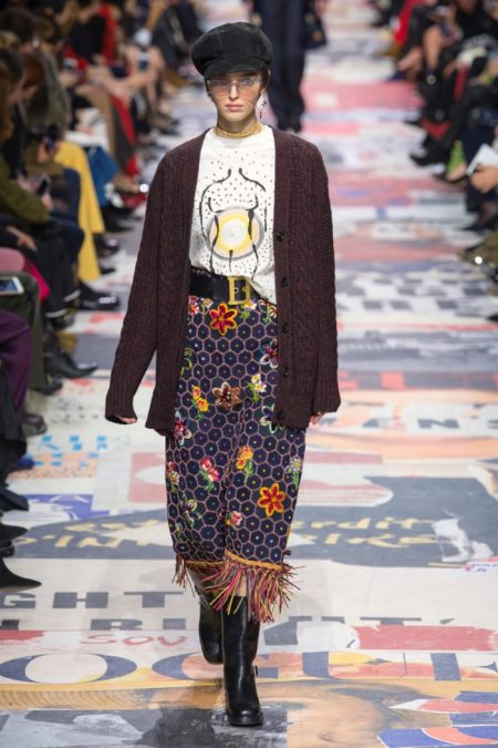 Dior Makes a Statement with Fall 2018 Collection