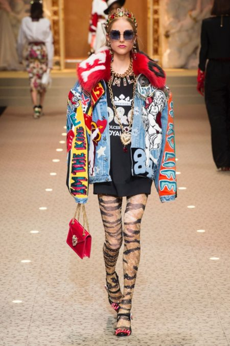 Dolce & Gabbana Show Their Love Of Fashion for Fall 2018