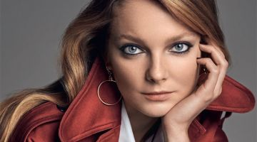 Eniko Mihalik Poses in the Season's Best Trenches for Vanity Fair Italy