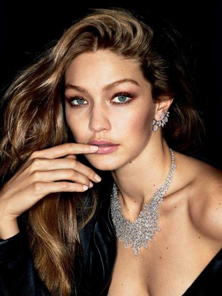 Gigi Hadid wears glittering gems in Messika Jewelry campaign