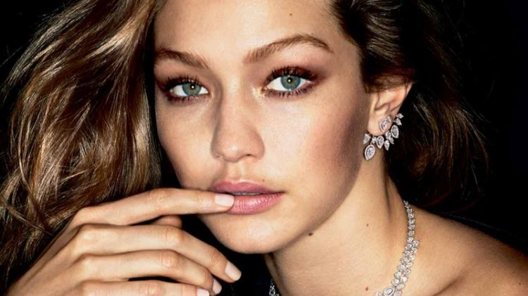 Gigi Hadid wears glittering gems in Messika Jewelry campaign