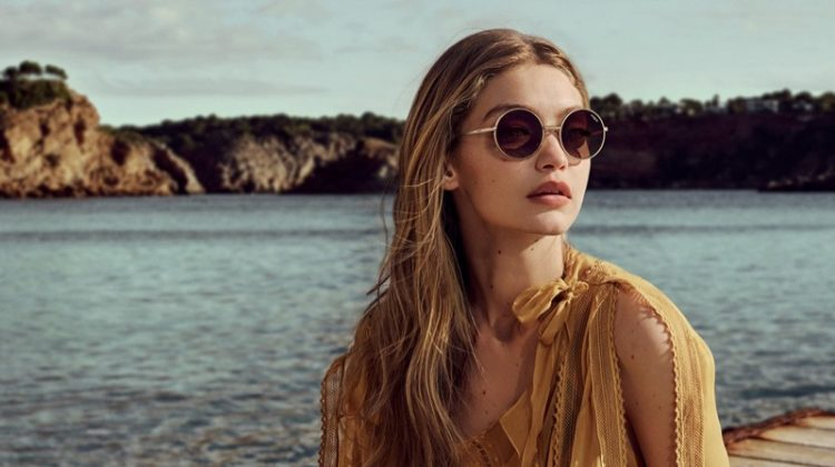 03eeb46d6 Gigi Hadid Teams Up with Vogue Eyewear on the Coolest Shades