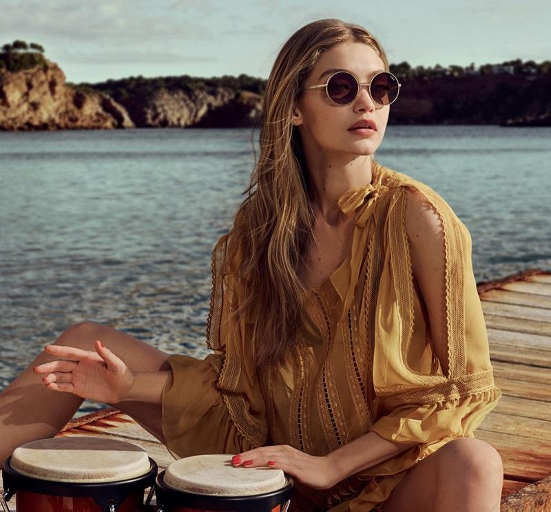 Gigi Hadid Designed Capsule Collection for Vogue Eyewear
