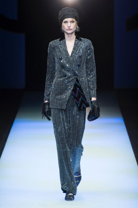 Giorgio Armani Does Relaxed Elegance for Fall 2018 Collection