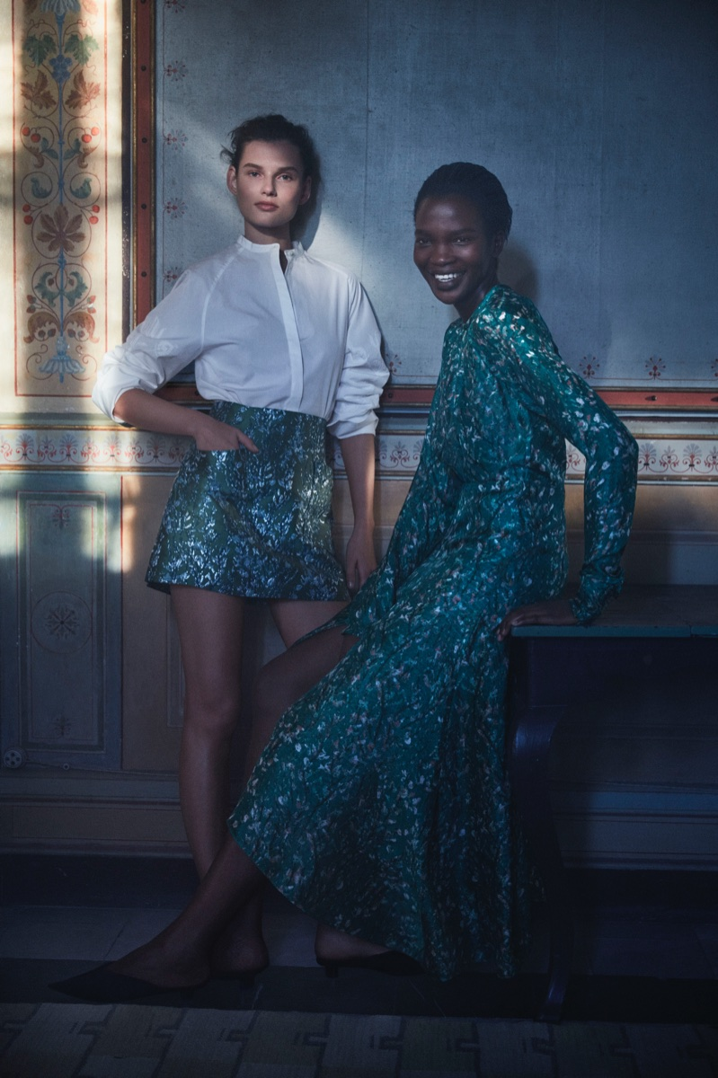 Giedre Dukauskaite and Aamito Lagum front H&M Conscious 2018 campaign