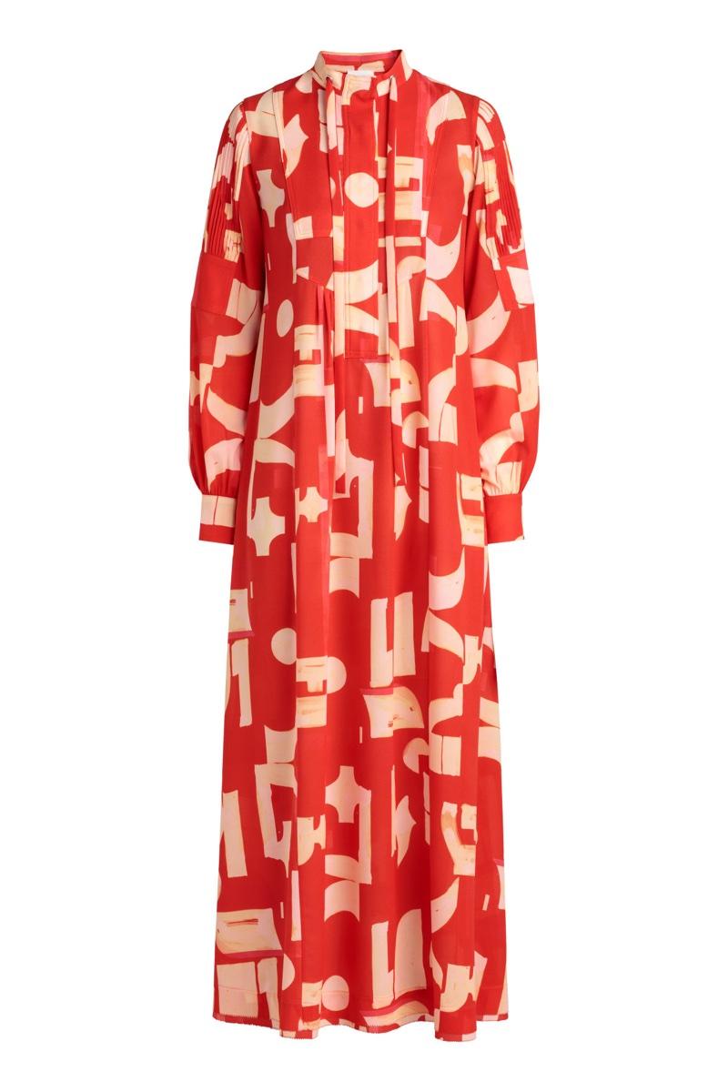 6866e838bb32 H M Studio Patterned Dress  199
