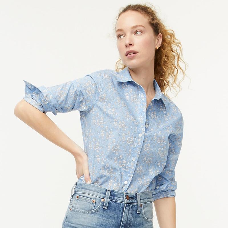 J. Crew Slim-Fit Shirt in Liberty Capel Floral $98