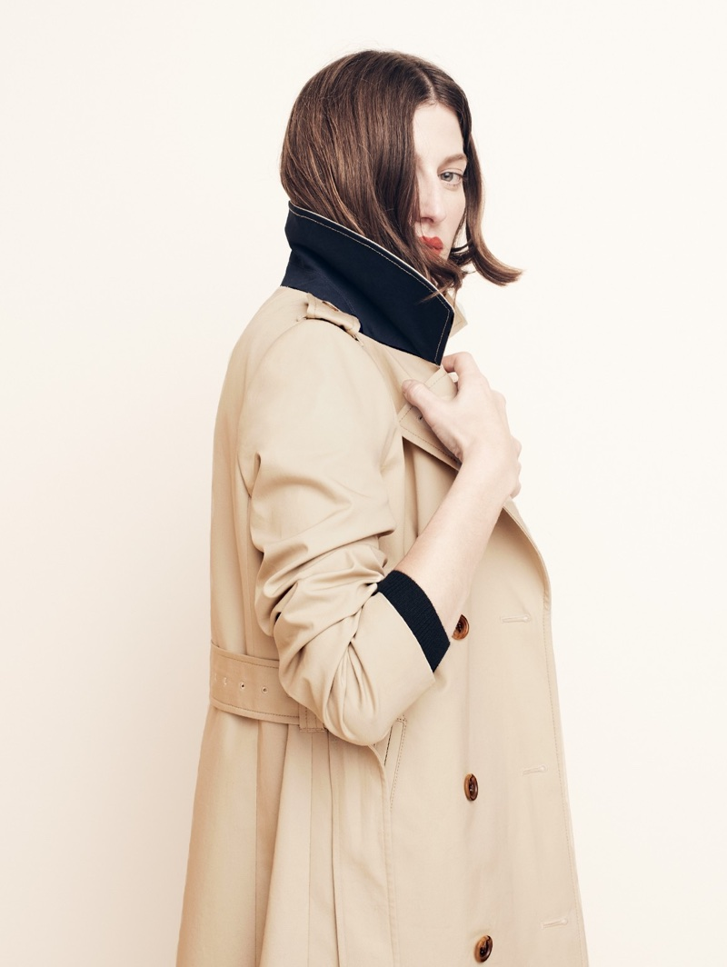 J. Crew The New Icon Trench Coat