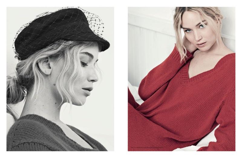Actress Jennifer Lawrence stars in Dior Magazine