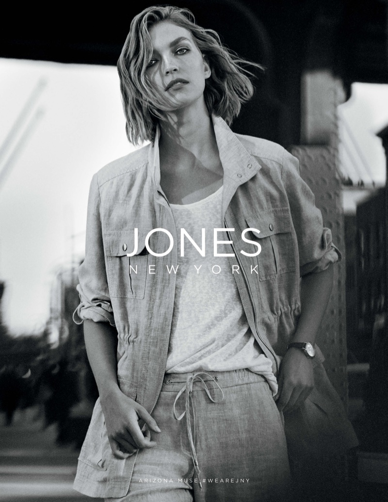 Arizona Muse stars in Jones New York's spring-summer 2018 campaign