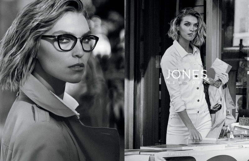 Arizona Muse fronts Jones New York's spring-summer 2018 campaign