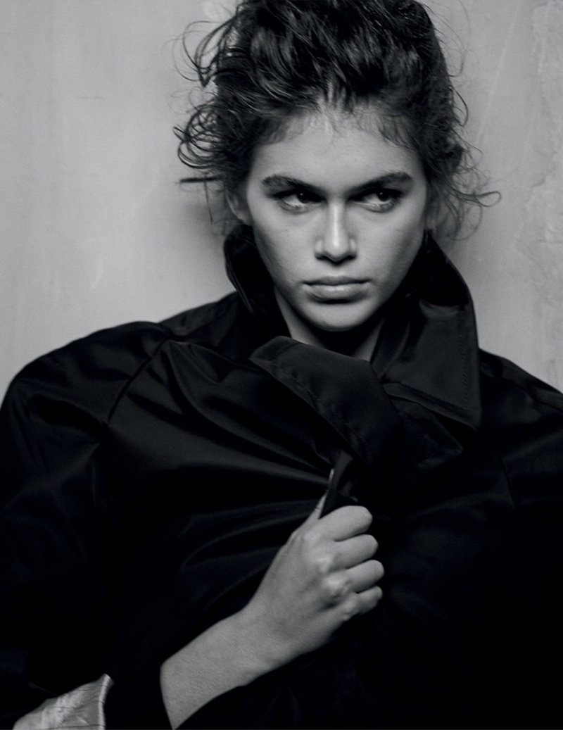 Kaia Gerber Models Prada's Spring Styles for Interview Magazine