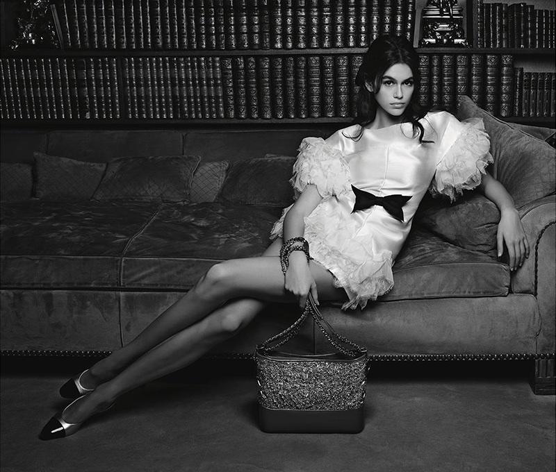 Kaia Gerber stars in Chanel Handbag spring-summer 2018 campaign