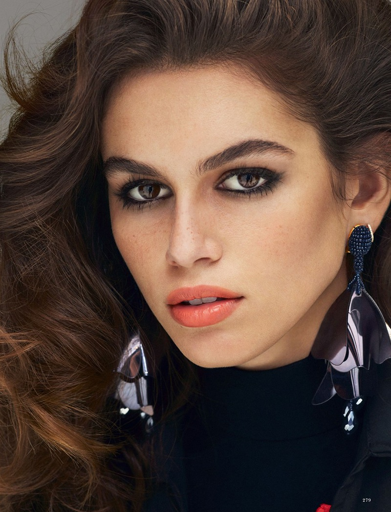 Kaia Gerber Poses in Ultra-Luxe Looks for LOVE Magazine