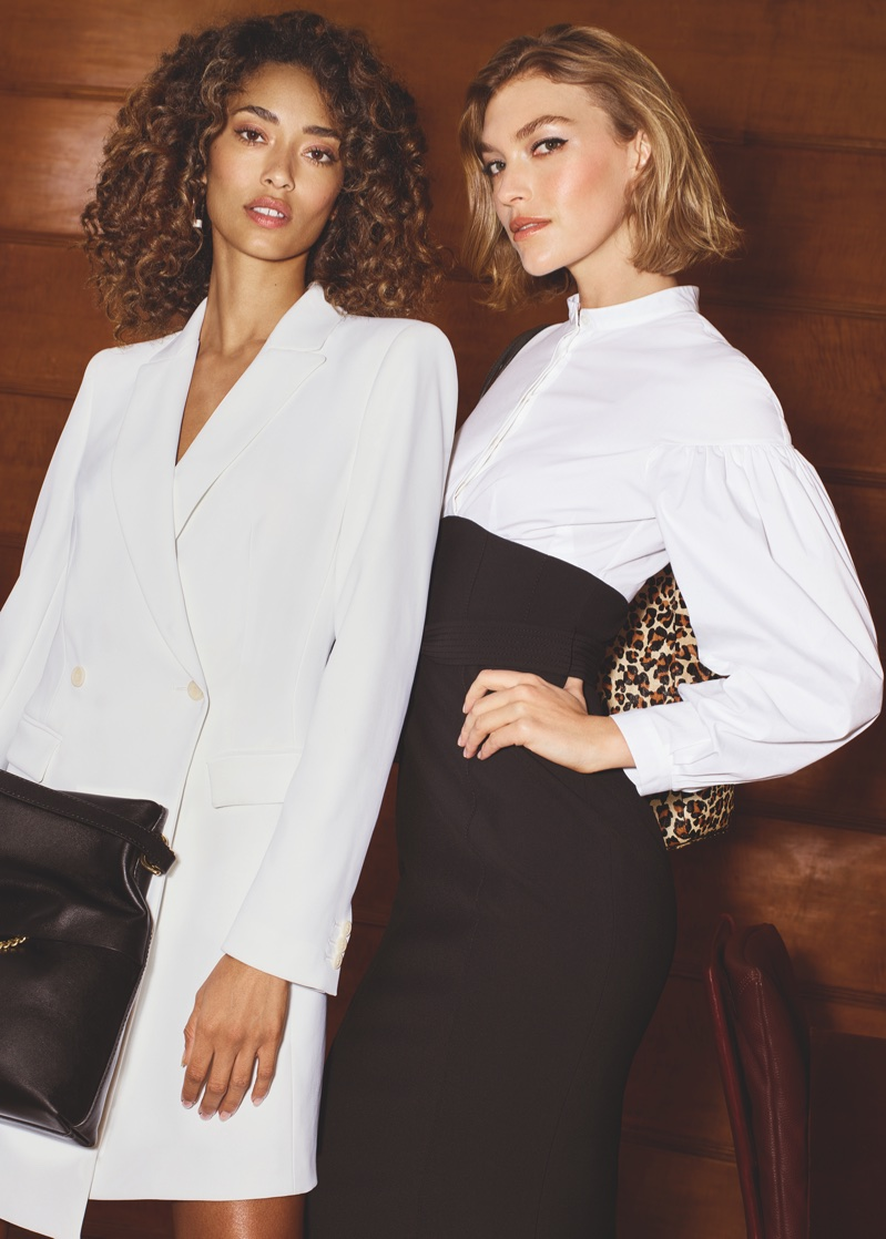 Anais Mali and Arizona Muse star in Karen Millen's spring-summer 2018 campaign
