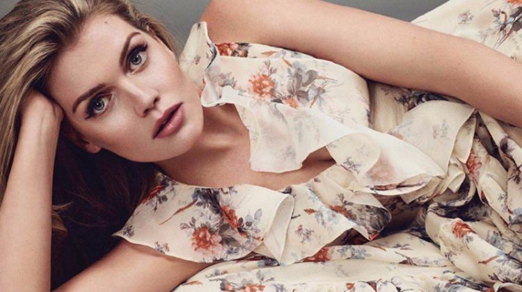 Princess Diana's Niece Kitty Spencer Wears Florals in Marie Claire Spain