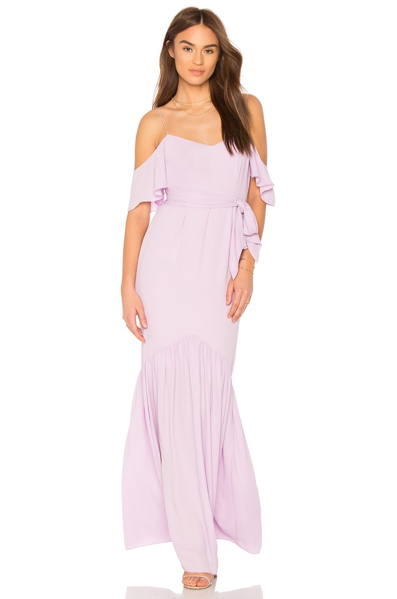 Likely x REVOLVE Emmy Bridesmaid Dress in Orchid Bloom $348