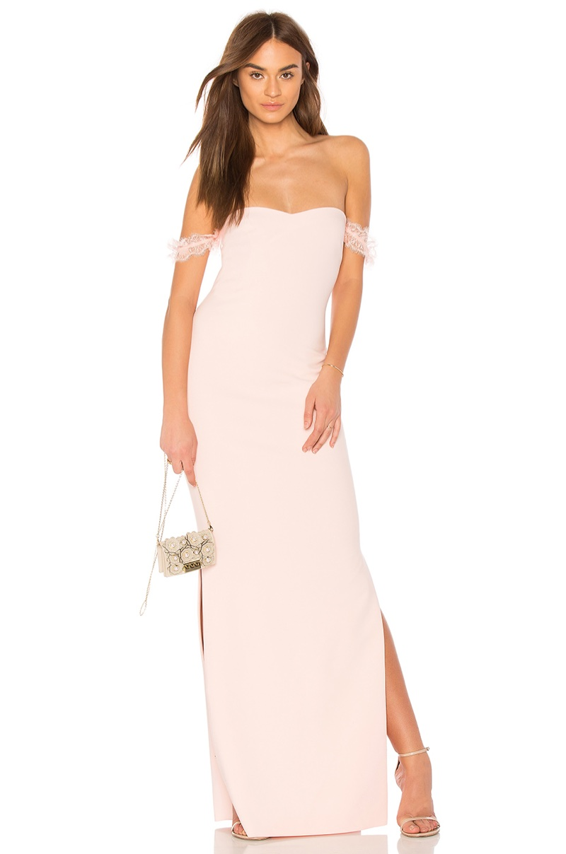 Likely x REVOLVE Olympia Bridesmaid Dress in Seashell Pink $298